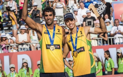 Poreč champs' race to victory in Gstaad