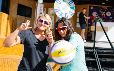 South Africans living the beach volleyball dream