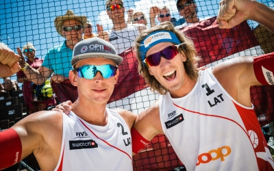 Men move closer to Gstaad semis