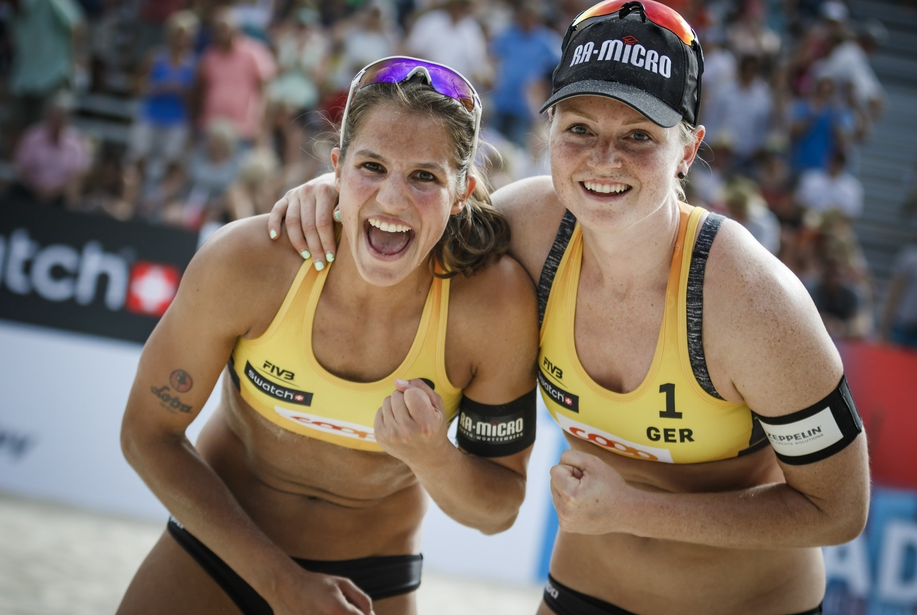 Chantal Laboureur and Julia Sude are in the Gstaad Major final