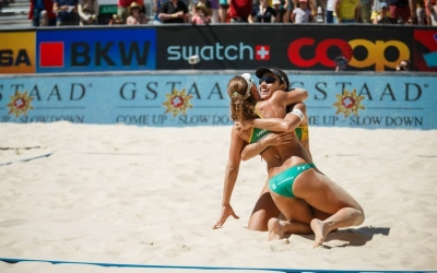 Brazilian golden girls win in Gstaad again