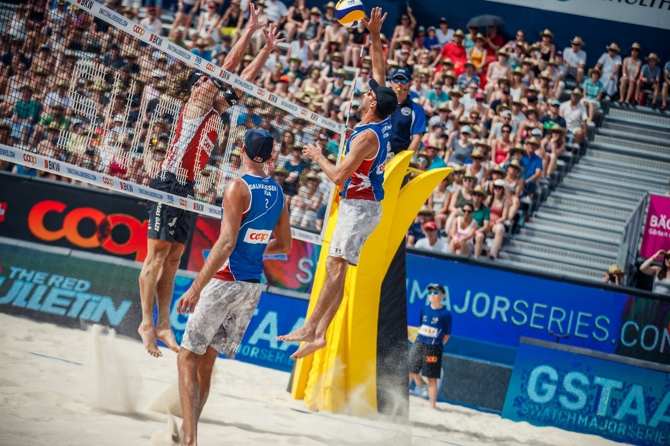 The American dream lives on for Dalhausser/Lucena. Martin Steinthaler.