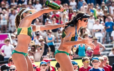 Larissa/Talita eager to make history in Gstaad