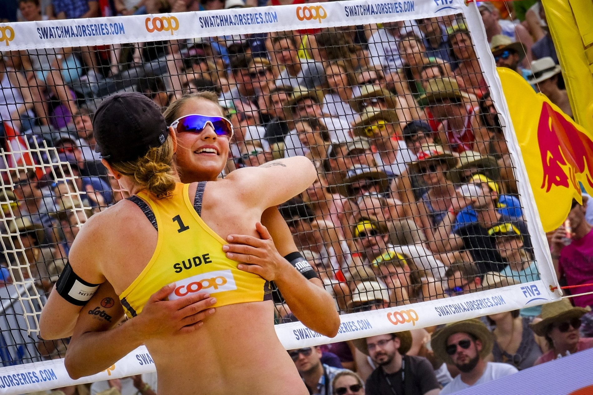 Laboureur/Sude celebrate clinching Gstaad Major gold