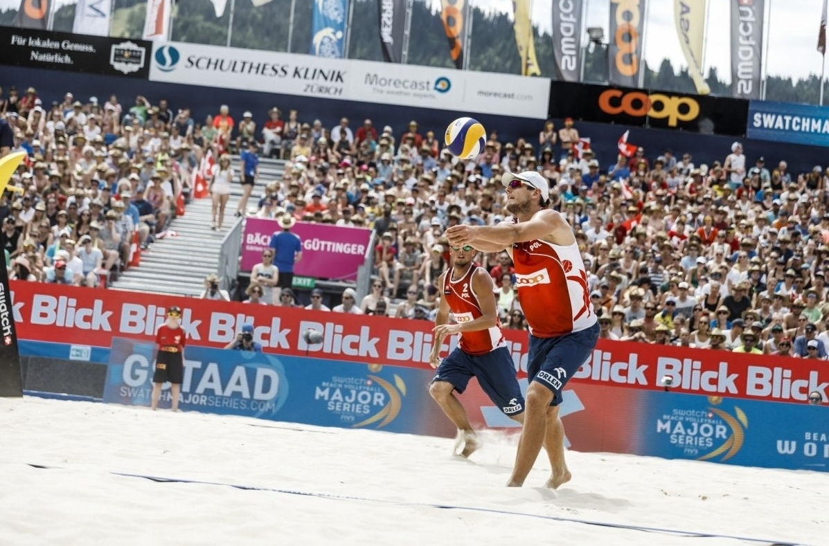 Kantor/Losiak are in their first Swatch Major Series final in Gstaad