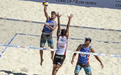 It's another Gstaad final for Lucena/Dalhausser