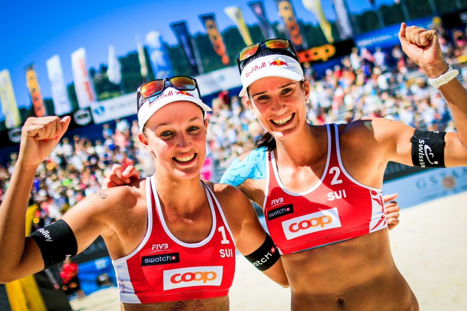 All eyes will be on Joana and Anouk as the Swiss team hope to end a run of 18 years without a gold in Gstaad