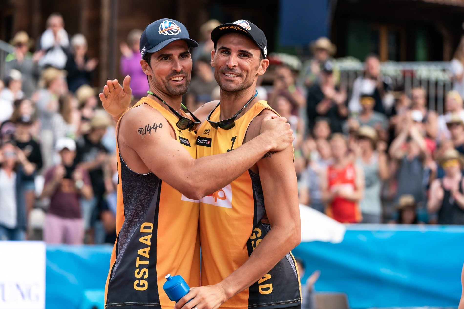 'Brothers' Herrera/Gavira are all smiles despite their losing the final