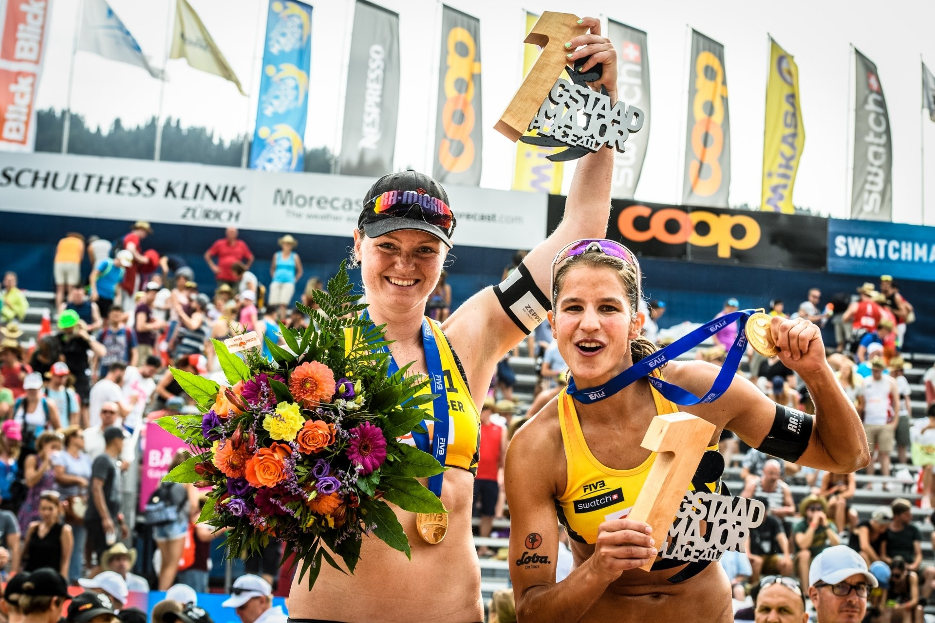 Sude and Laboureur topped the podium in Gstaad in 2017