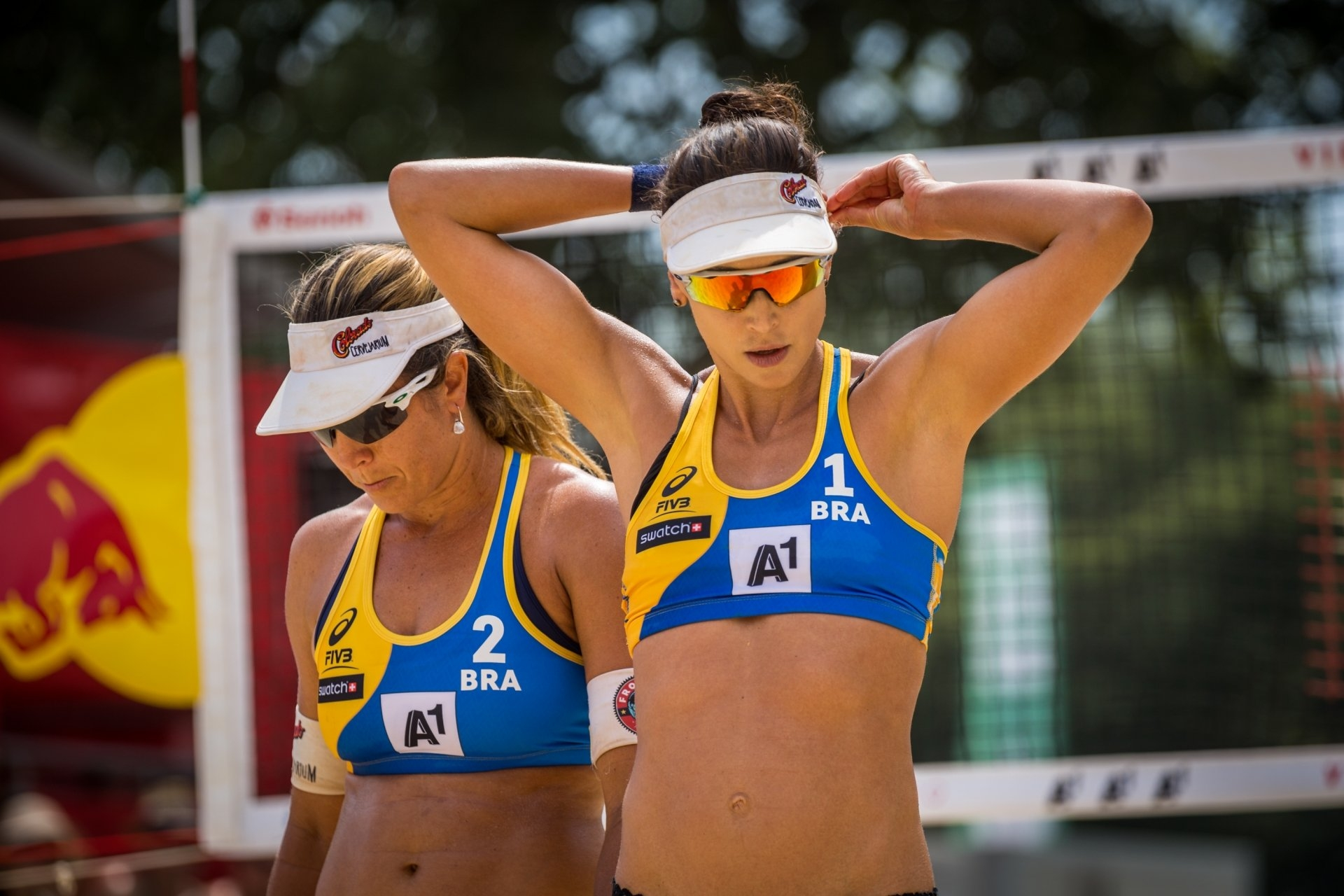 The Brazilians are doing very well in the World Tour but are yet to repeat this performance in the Beach Major Series