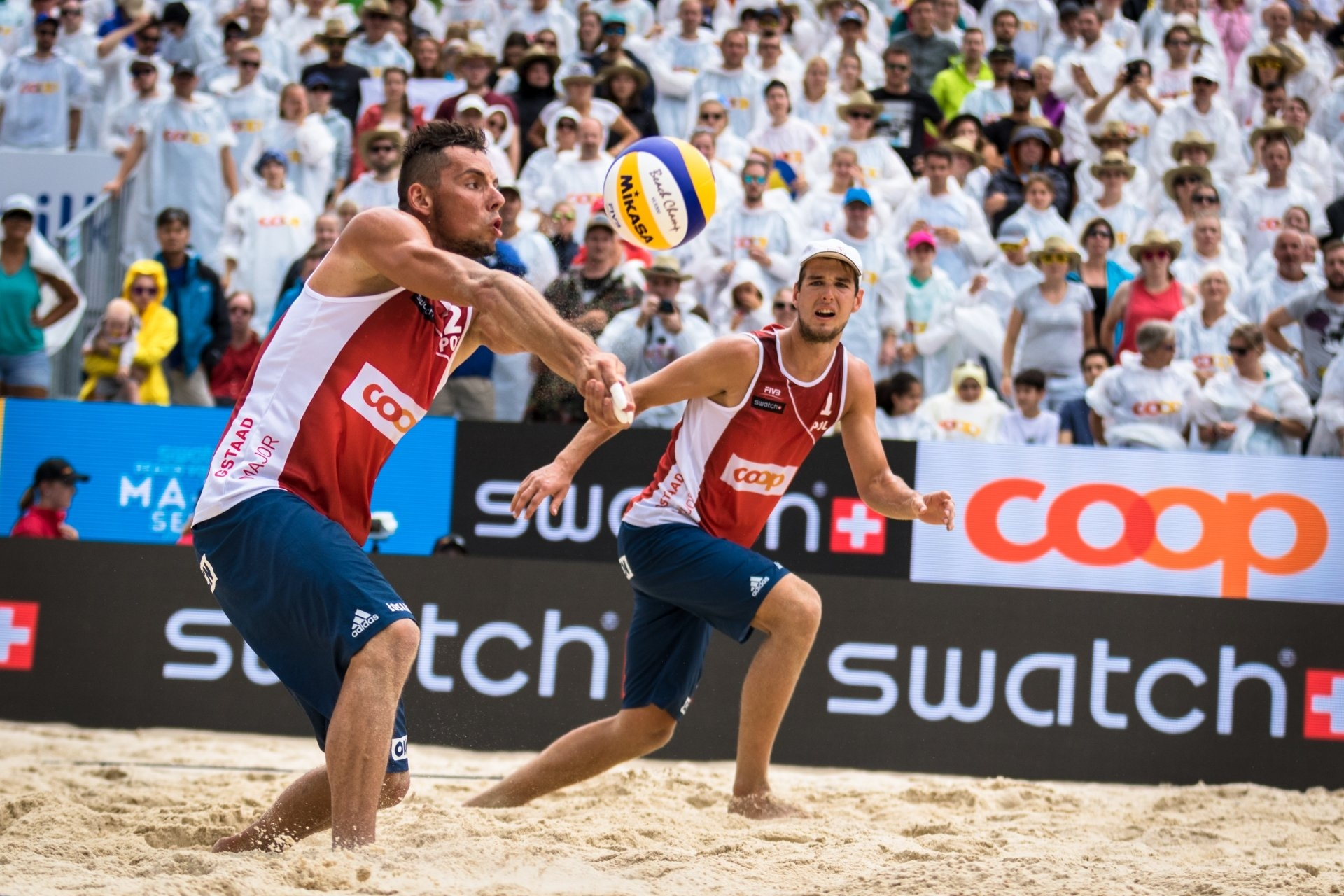 Kantor and Losiak won silver last year in Gstaad losing to Lucena and Dalhausser in the final
