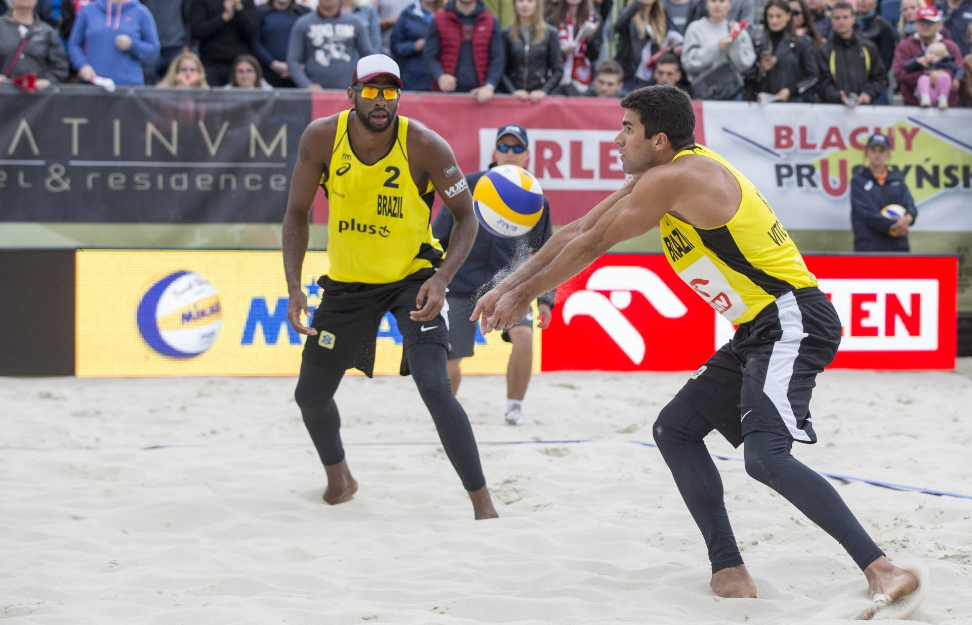 Evandro and Vitor had by far the best start among the new Brazilian teams (Photocredit: FIVB)