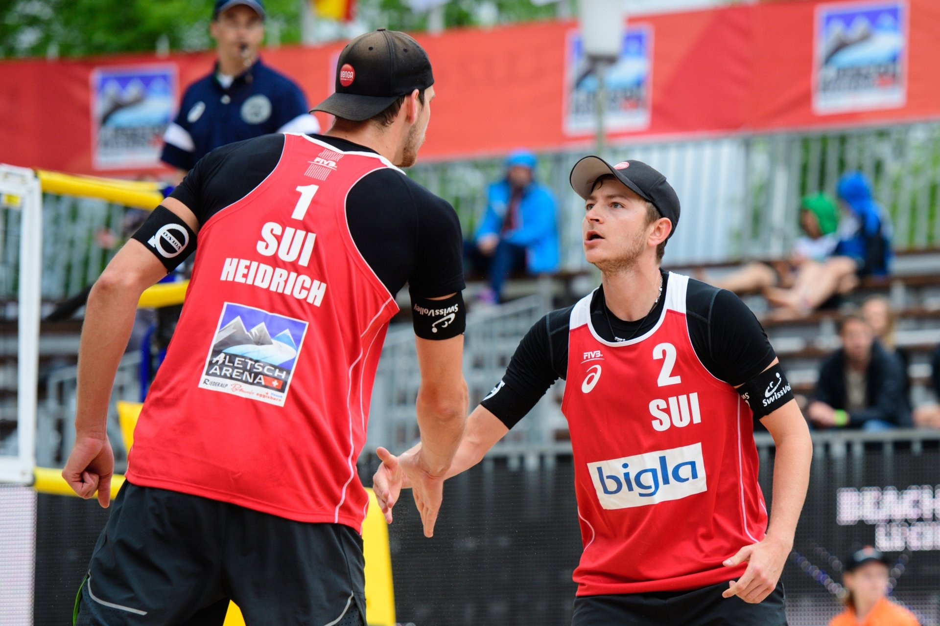 Heidrich and Gerson are looking to build from the bronze medal they won in Lucerne (Photocredit: FIVB)
