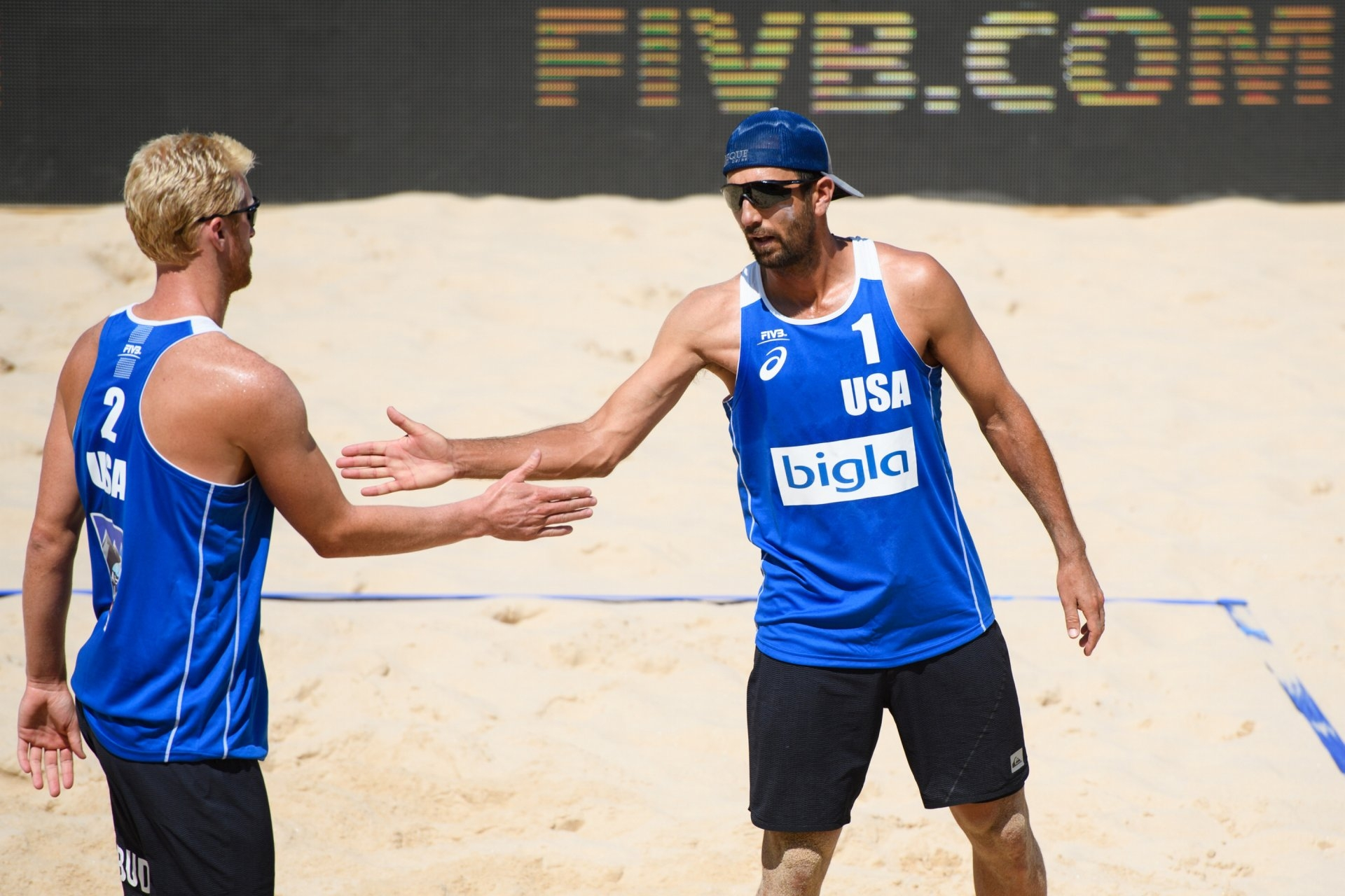 Budinger and Rosenthal will play in just their third World Tour event together (Photocredit: FIVB)