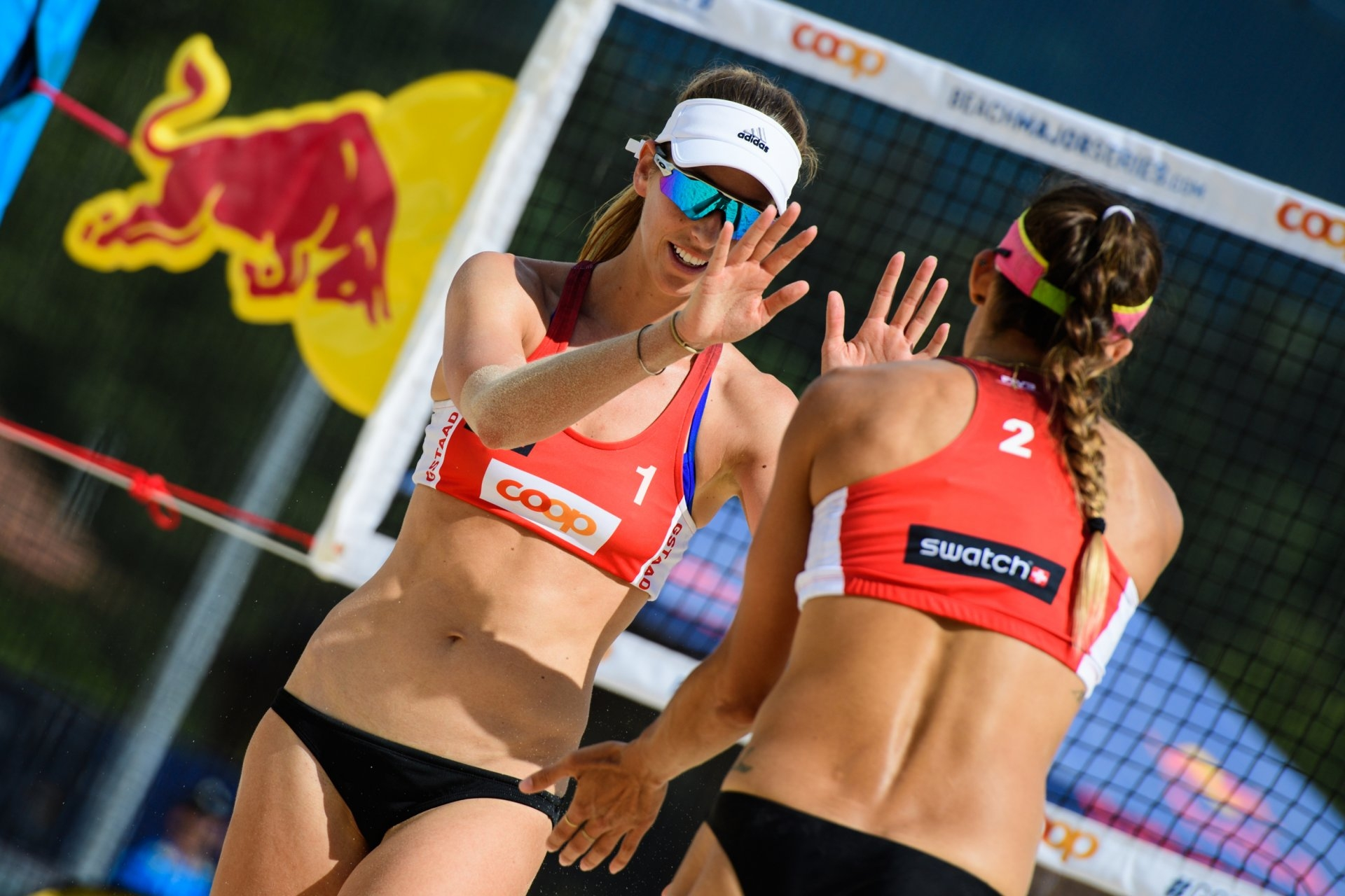 Stockman and Larsen won their first two matches in Gstaad (Photocredit: FIVB)