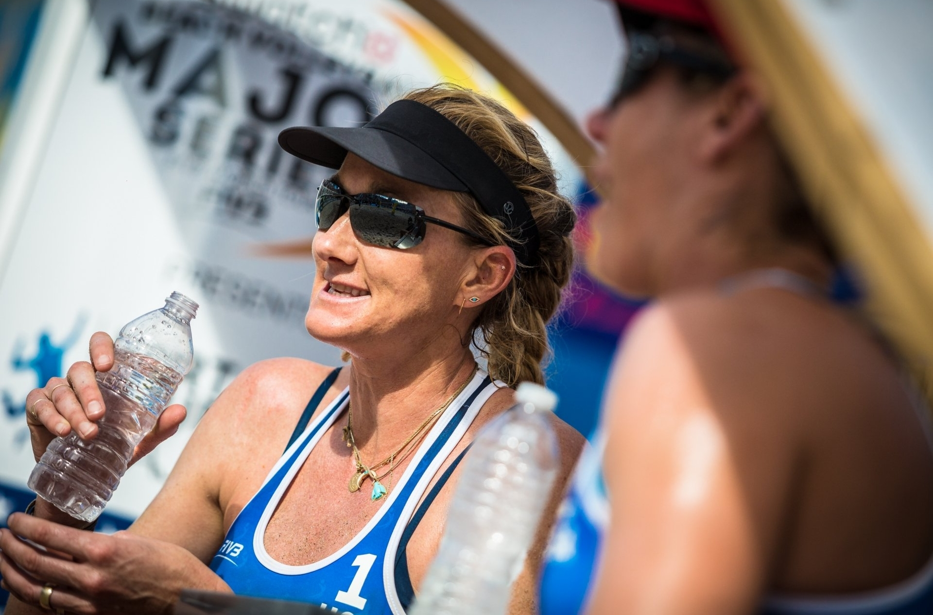 Kerri Walsh Jennings has won in Gstaad six times - but has yet to win a Major in the mountains