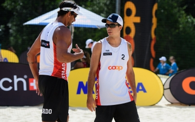 Early exit for Ricardo/Guto in Gstaad