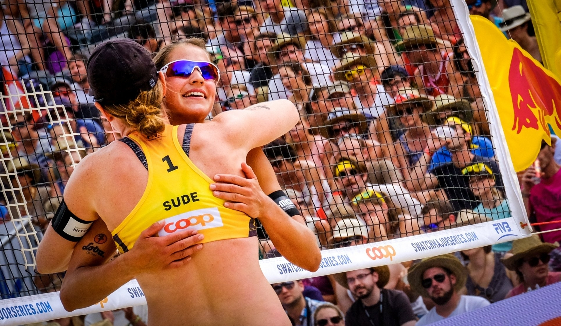 Sude and Laboureur advanced to the elimination round in Gstaad